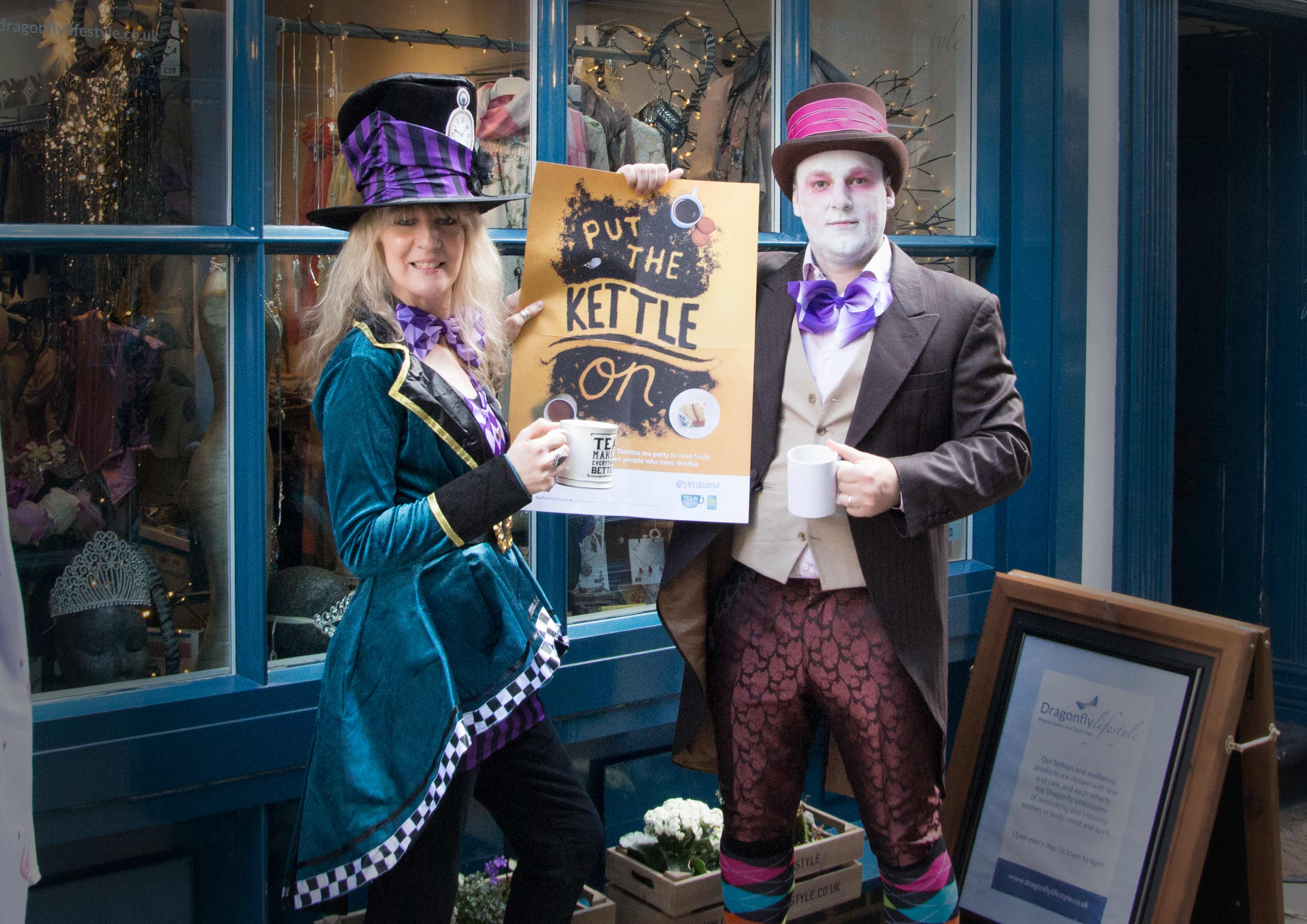 #T4Tinnitus – 21st June 2018 – Mad Hatter Tea Party – Greenwich Market